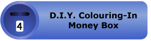 D.I.Y. Colouring-in Money Box Pack