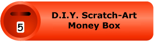 D.I.Y. Scratch-Art Money Box Pack