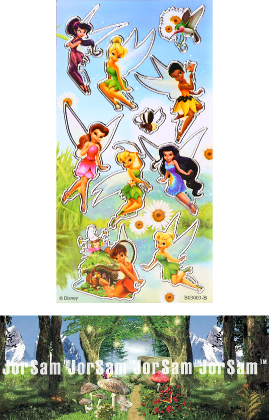 Tinkerbell and Fairy friends